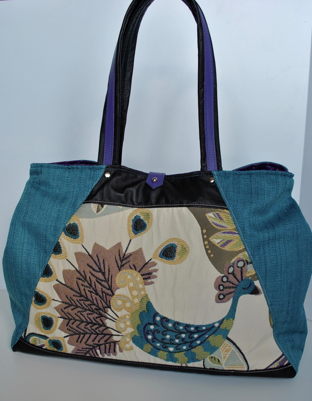 Expandable Peacock Large Bag