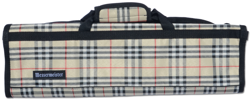 8 POCKET DELUXE MESSERMEISTER PRINT KNIFE ROLL