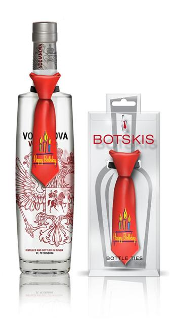 Botskis Birthday Bottle Tie