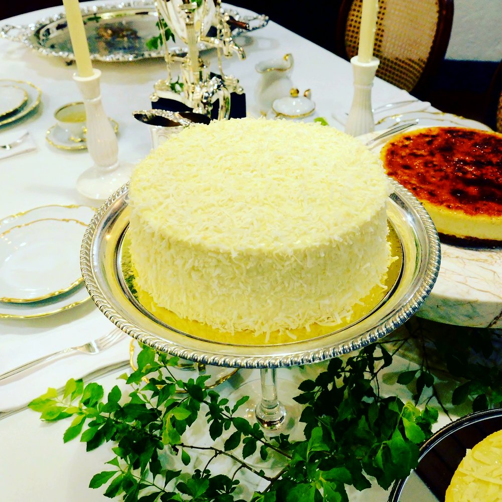 - COCONUT CLOUDSoft, pillowy moist cake filled with luscious 100% pure Macapuno and sprinkled with lots of Coconut Flakes. Having Plain or Toasted Coconut Flake sprinkles are your options.9 inch (serves 10) P1200(This is a seasonal item. Kindly inquire for availability.)Place an Order