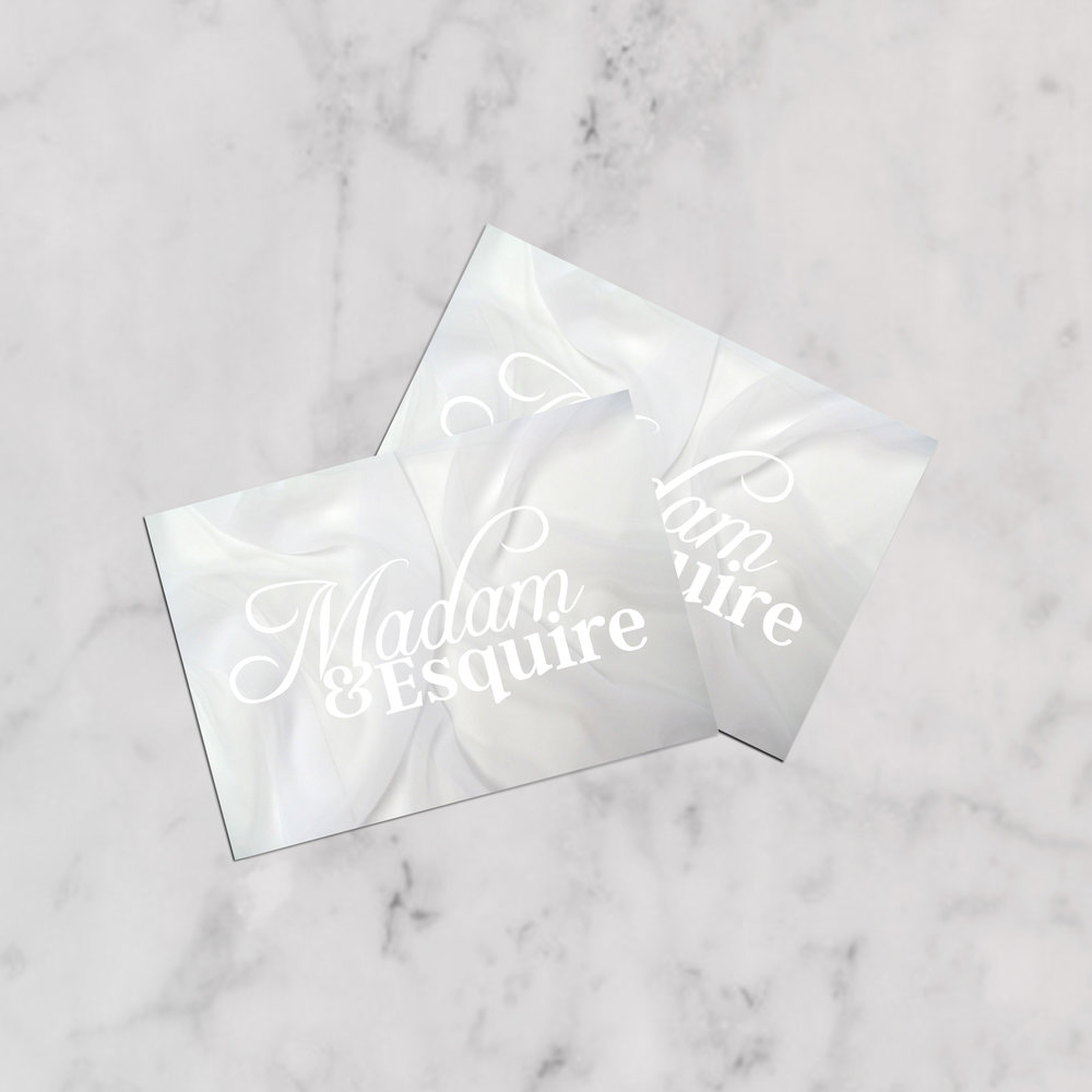 Madam & Esquire BRANDING   |   COLLATERAL CASE STUDY COMING SOON >