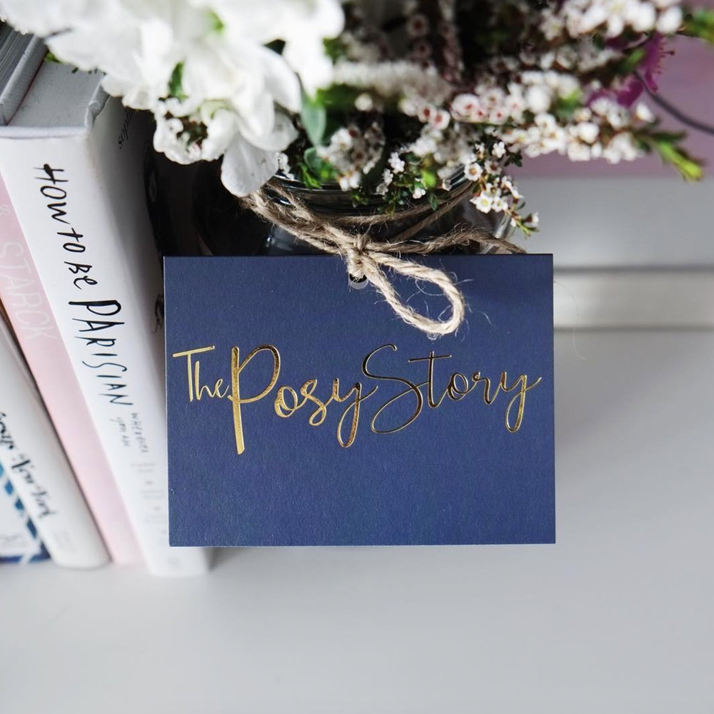 The Posy Story  BRANDING   |   COLLATERAL