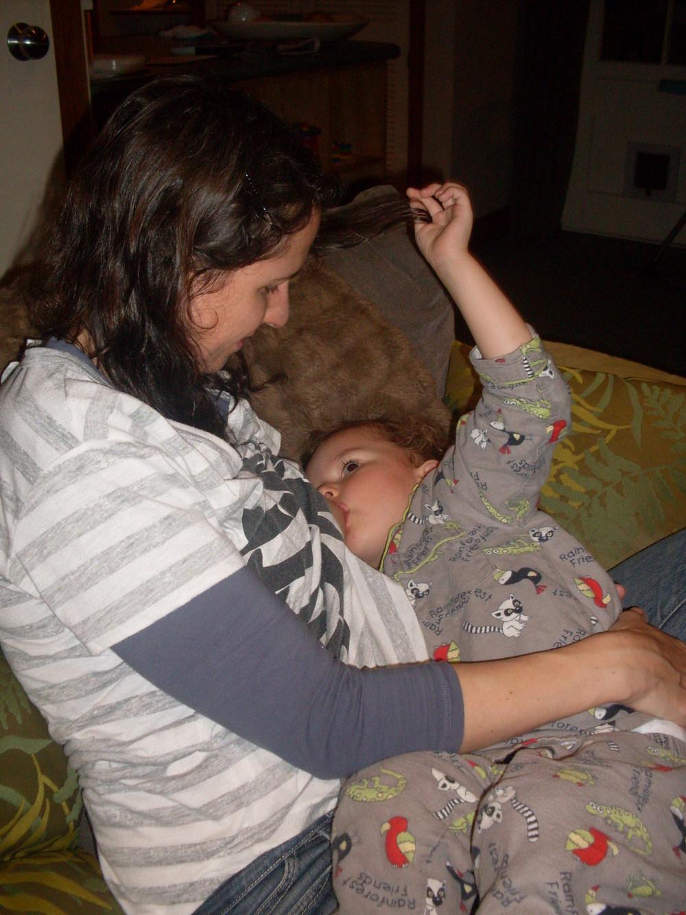 Breastfeeding Luca (2 yrs, 8mths old)