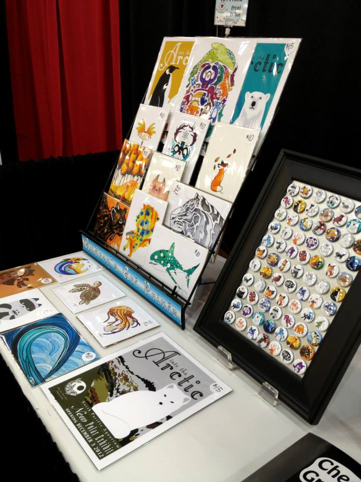 handmade art prints - DCon 2014