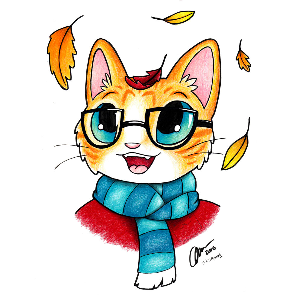 """Autumn Kitty"""