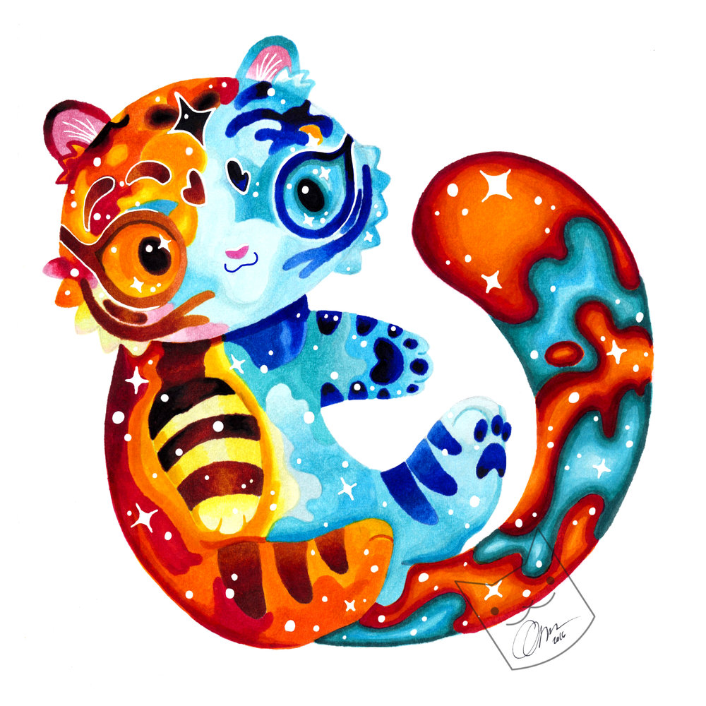 """Galaxy Kitty"""