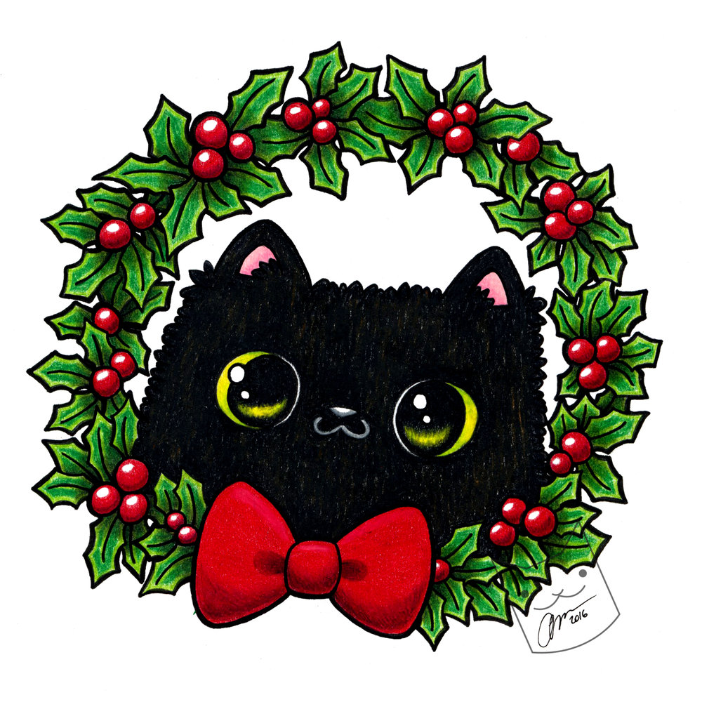 """Holly Jolly Kitty"""