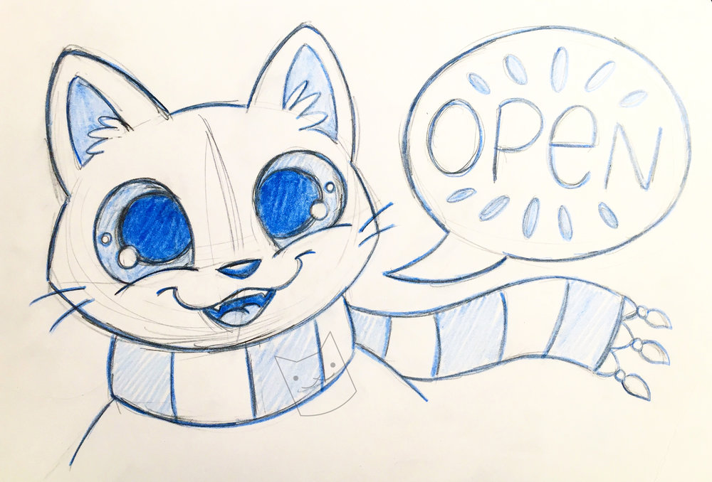 open sign cat.jpg