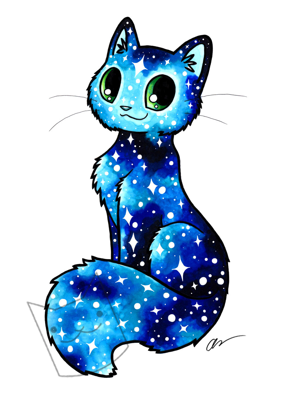 blue glitter kitty.jpg