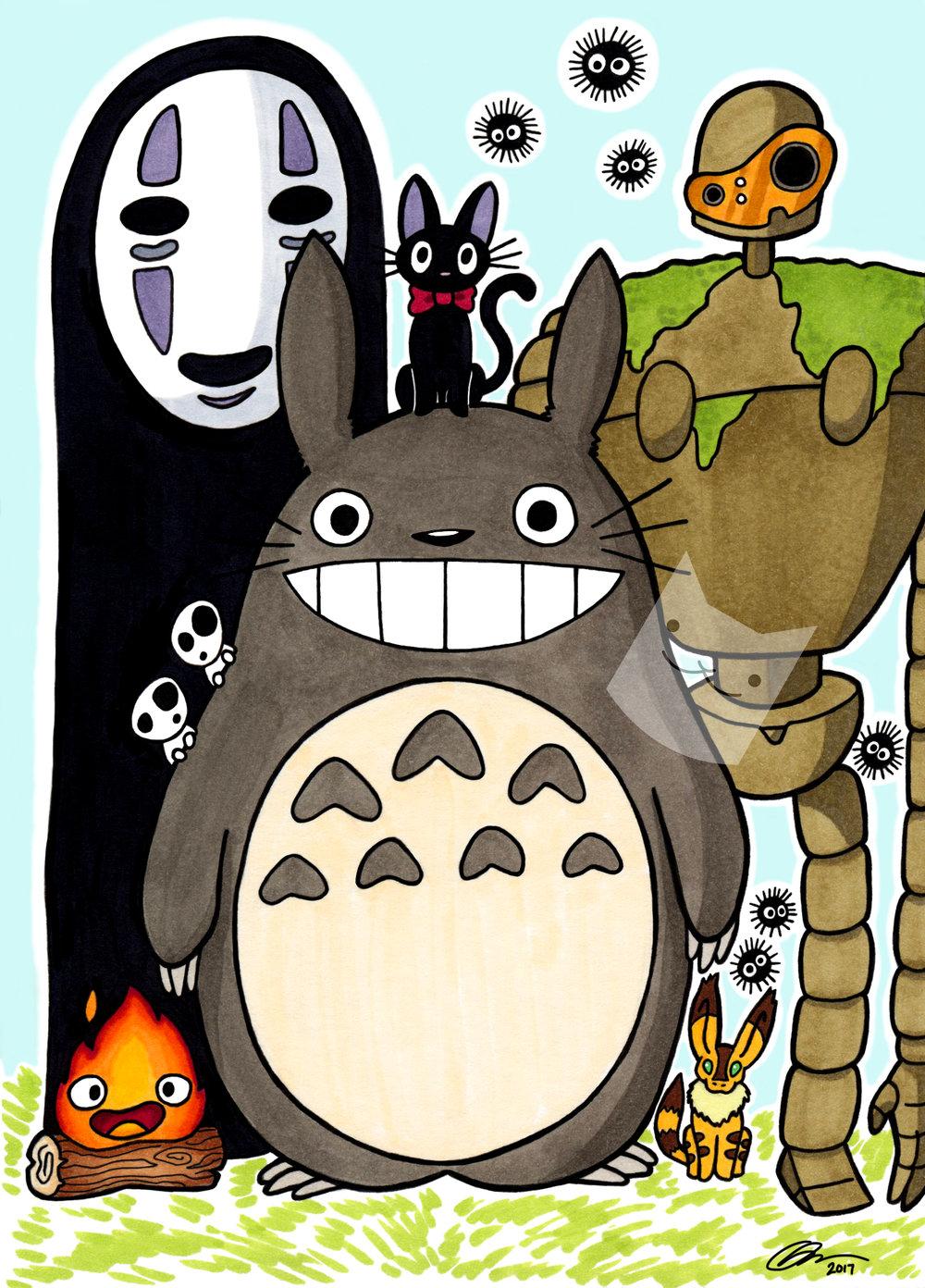 """Miyazaki Party"""