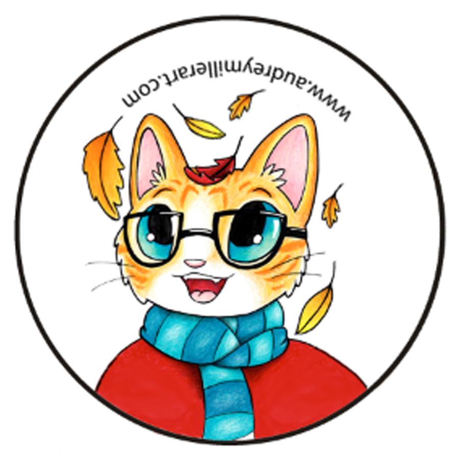 autumn kitty button.jpg