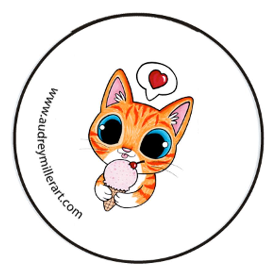 ice creaam kitty button.jpg