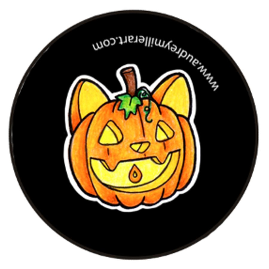 Halloween Pumpkin Kitty Button.jpg