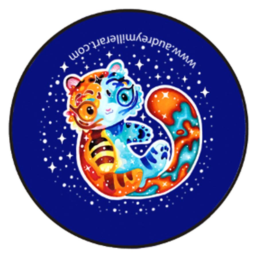 Rainbow Galaxy Kitty button.jpg