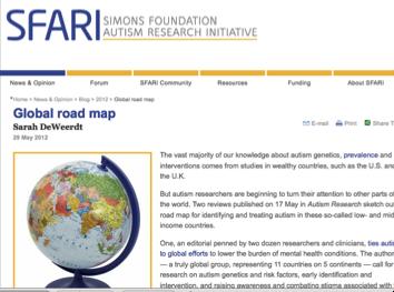 29 May 2012 Global road map