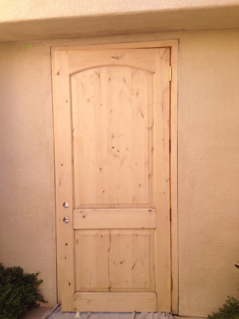 Alder Door - Before