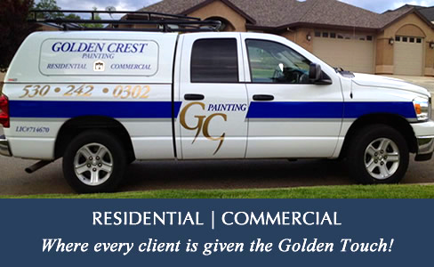 golden crest painting truck