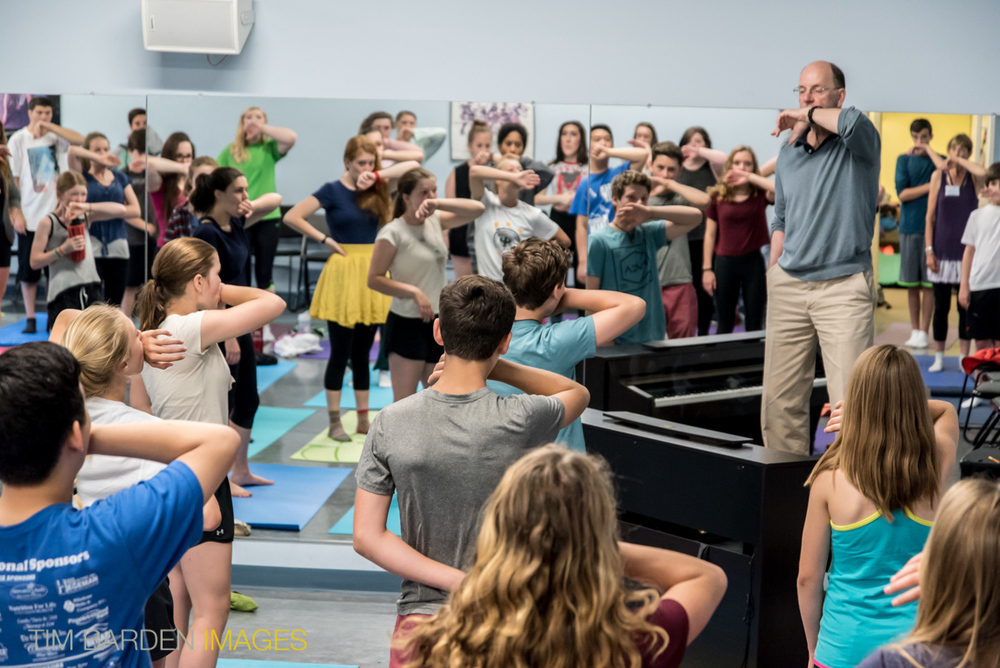 VTMTA Co Founder Bill Reed teaching at his Summer Intensive