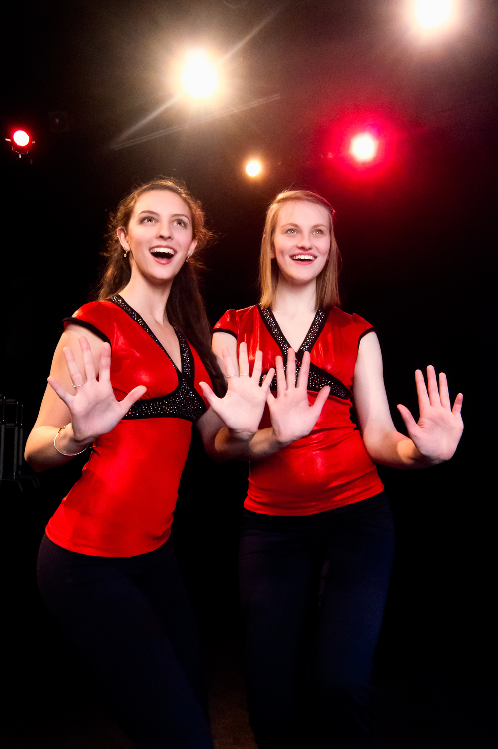 Spotlight alumni Ellie Valastro and Kerstin Anderson (Maria in the National Tour of Sound of Music)