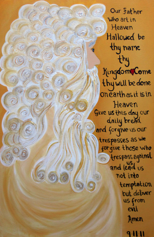 The Lords Prayer, 9.11 Tribute (Private Collection)