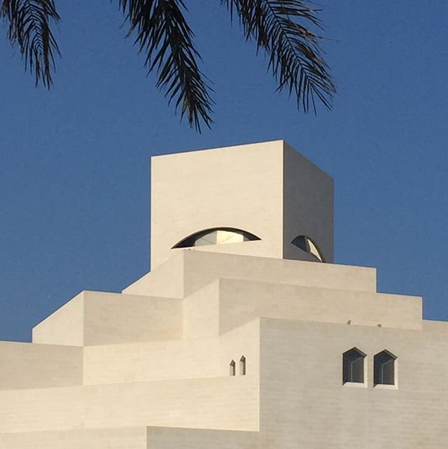 An architectural oasis  #doha #islamic #architecture