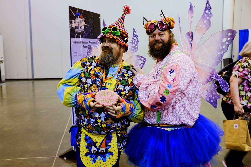 The Fairy Bros....two of the most awesome guys you'll ever meet....seriously, the have FREE HUGS !! (Fuji X100s)