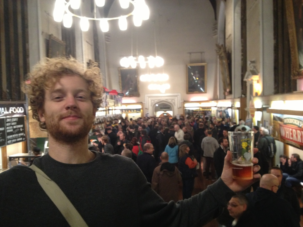 To start off with you can't really call yourself a student if you don't like drinking, getting a brief which was branding a beer company was a dream job and couldn't pass up a opportunity on doing some first hand 'research' at the Norwich beer festival.