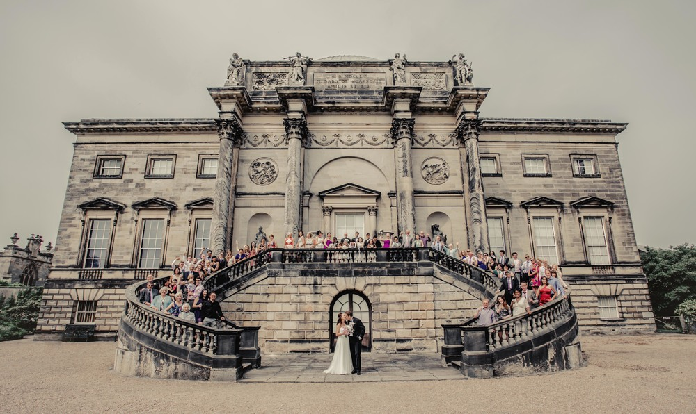 Wedding photography at Kedleston Hall by www.markpugh.com Mark Pugh