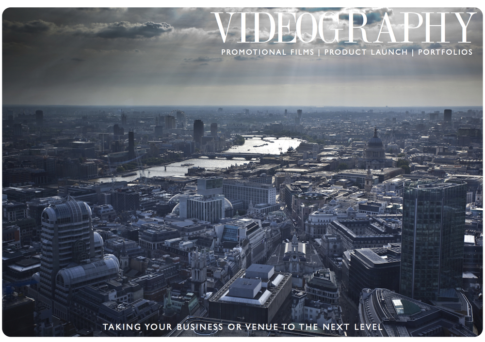 Reach your target audience with a range of specialist services. Use our  Videography services to promote your business