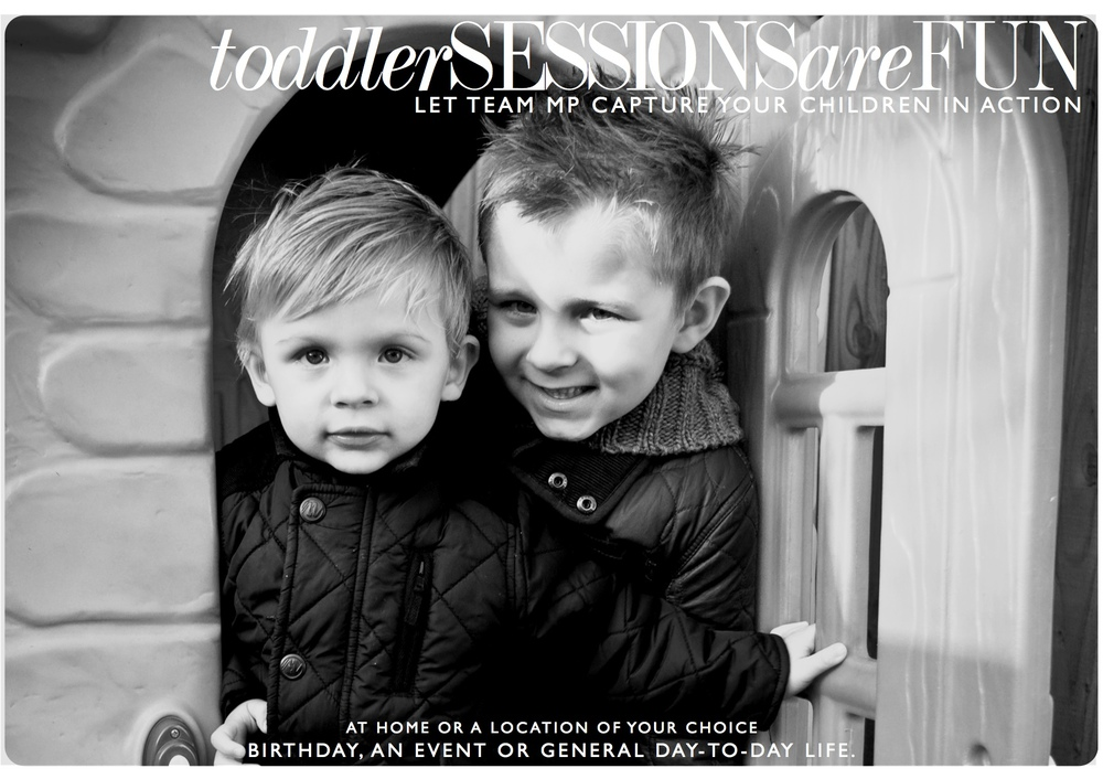 Toddler sessions are FUN -  click the image above to view additional information.
