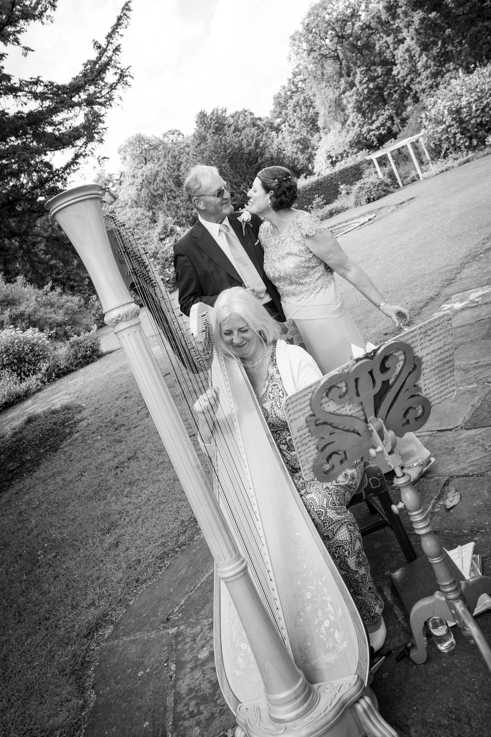 Sue and Stuart at Stapleford Park - Photographer www.markpugh.com