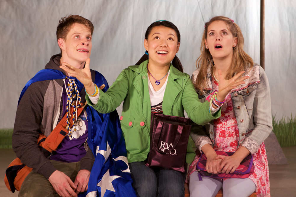 Joshua Sto  dart, Rong Fu & Heather Marie Annis.    Set & Costumes Designed by Lindsay C. Walker