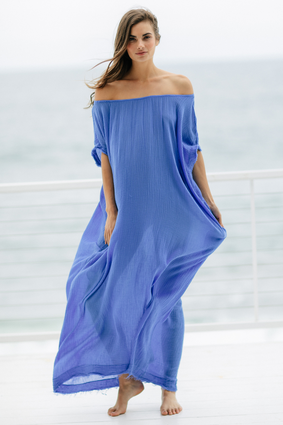 Moonstone Caftan - Blueberry