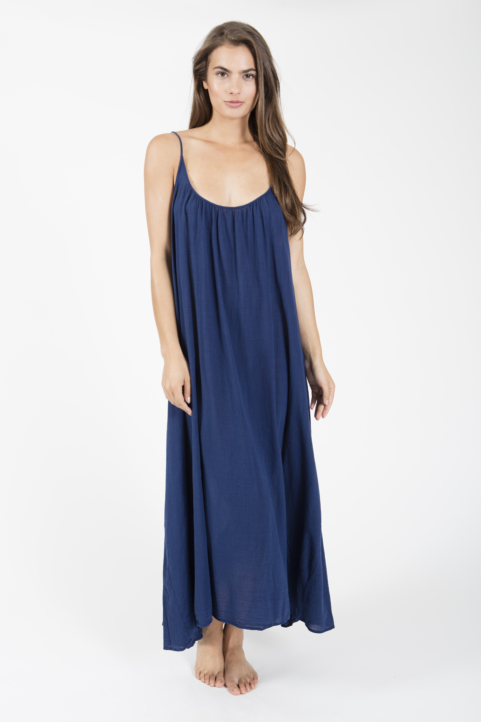 Tulum low back maxi - pacific