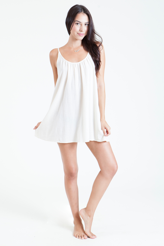 St Barts low back mini - white