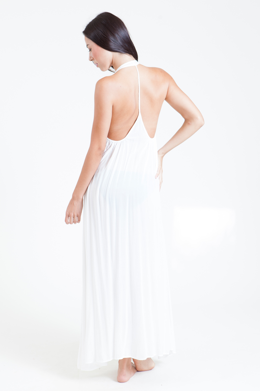 Antigua T-back maxi - white