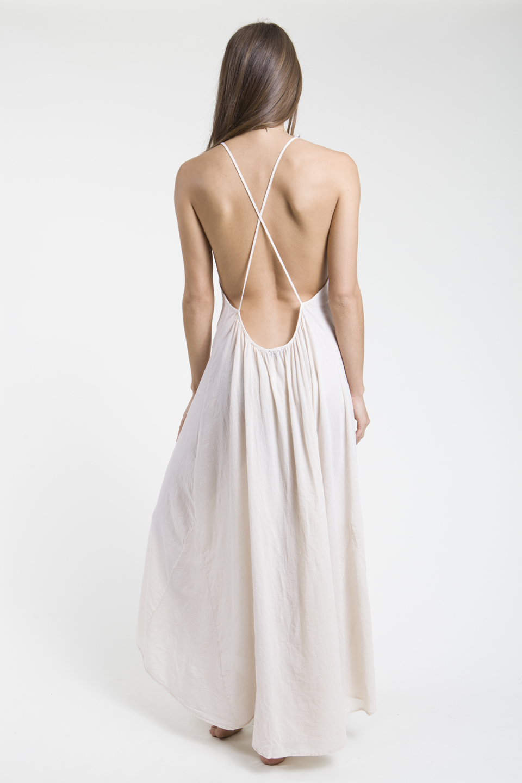 Seychelles cross back maxi - naked