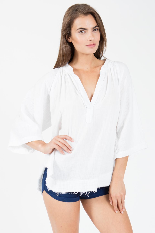 Marrakesh dashiki - white