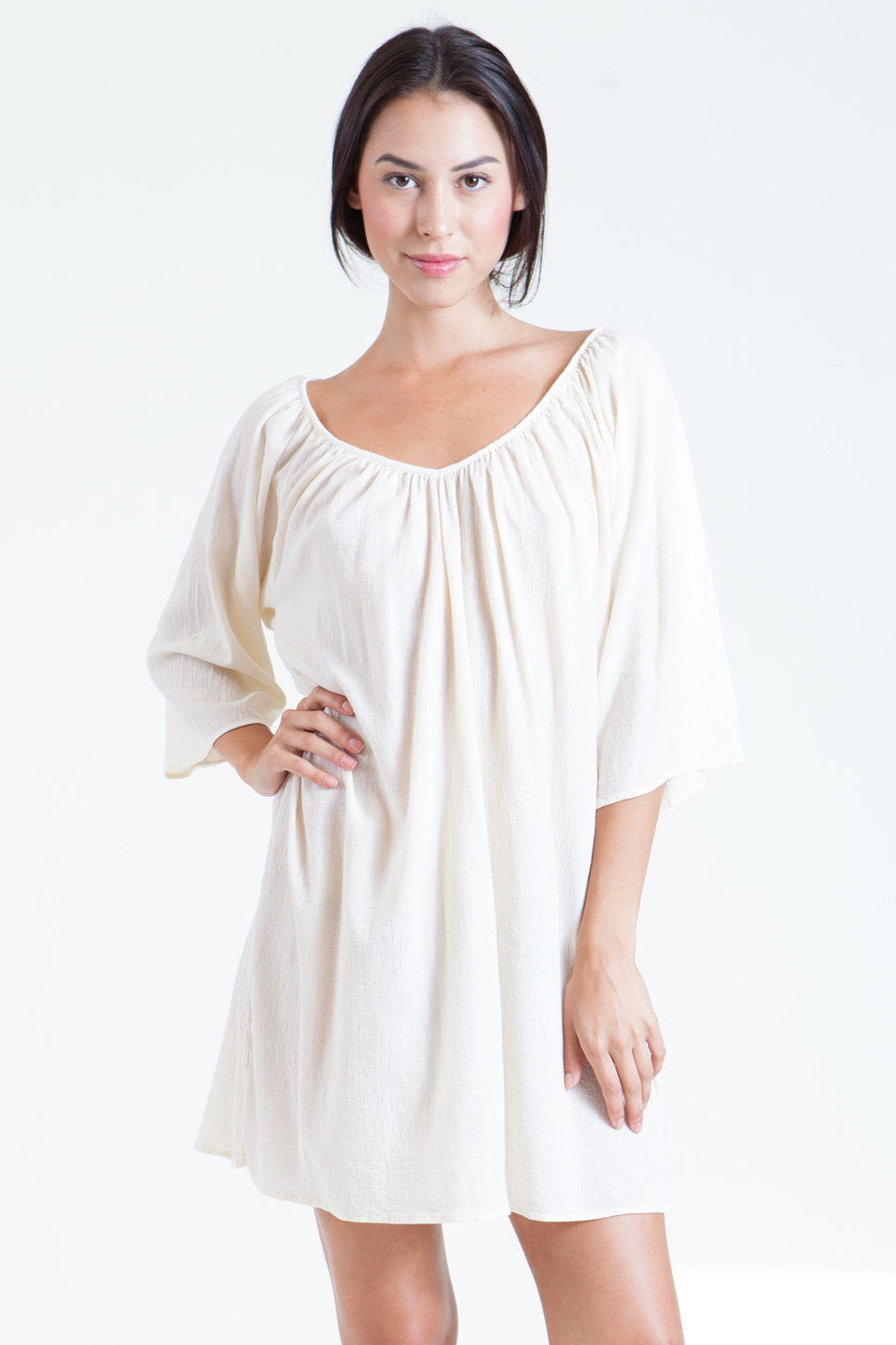 Santa Cruz tunic - white
