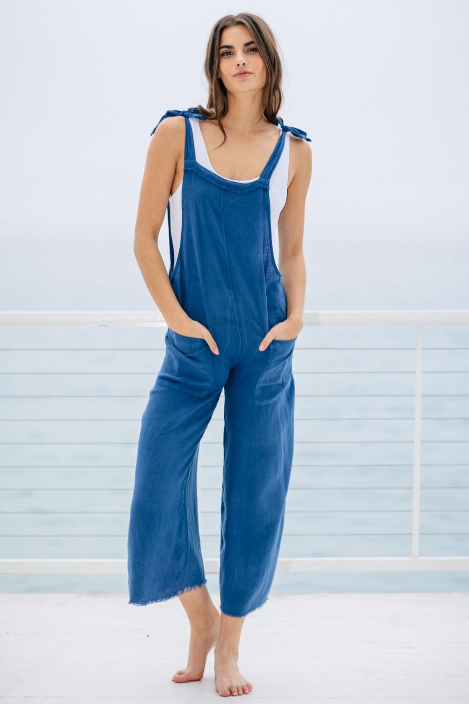 Latino overalls - indigo
