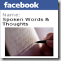 Spoken Words on Facebook