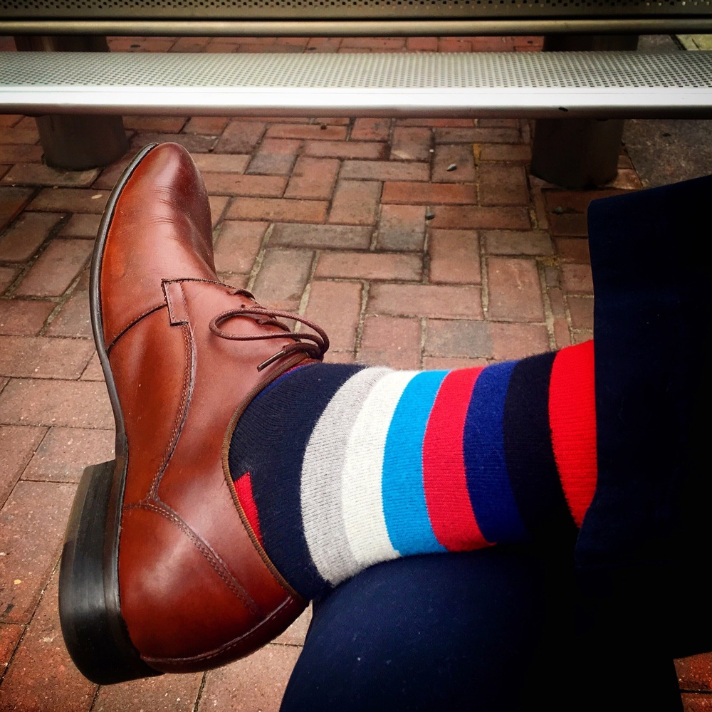 Society Socks, Thin Stripes