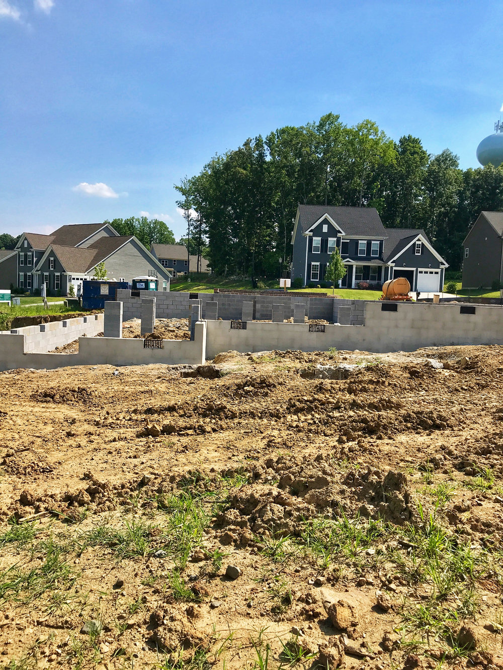 Back Elevation - Lot #44 Peach Orchard Estates