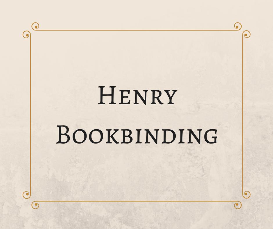 Henry Bookbinding