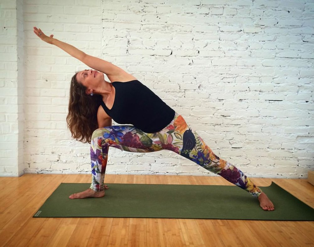 Artful Yoga Pants Featuring the Original Work of Dar James