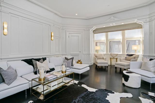 117 Beacon Street, Boston Living Room