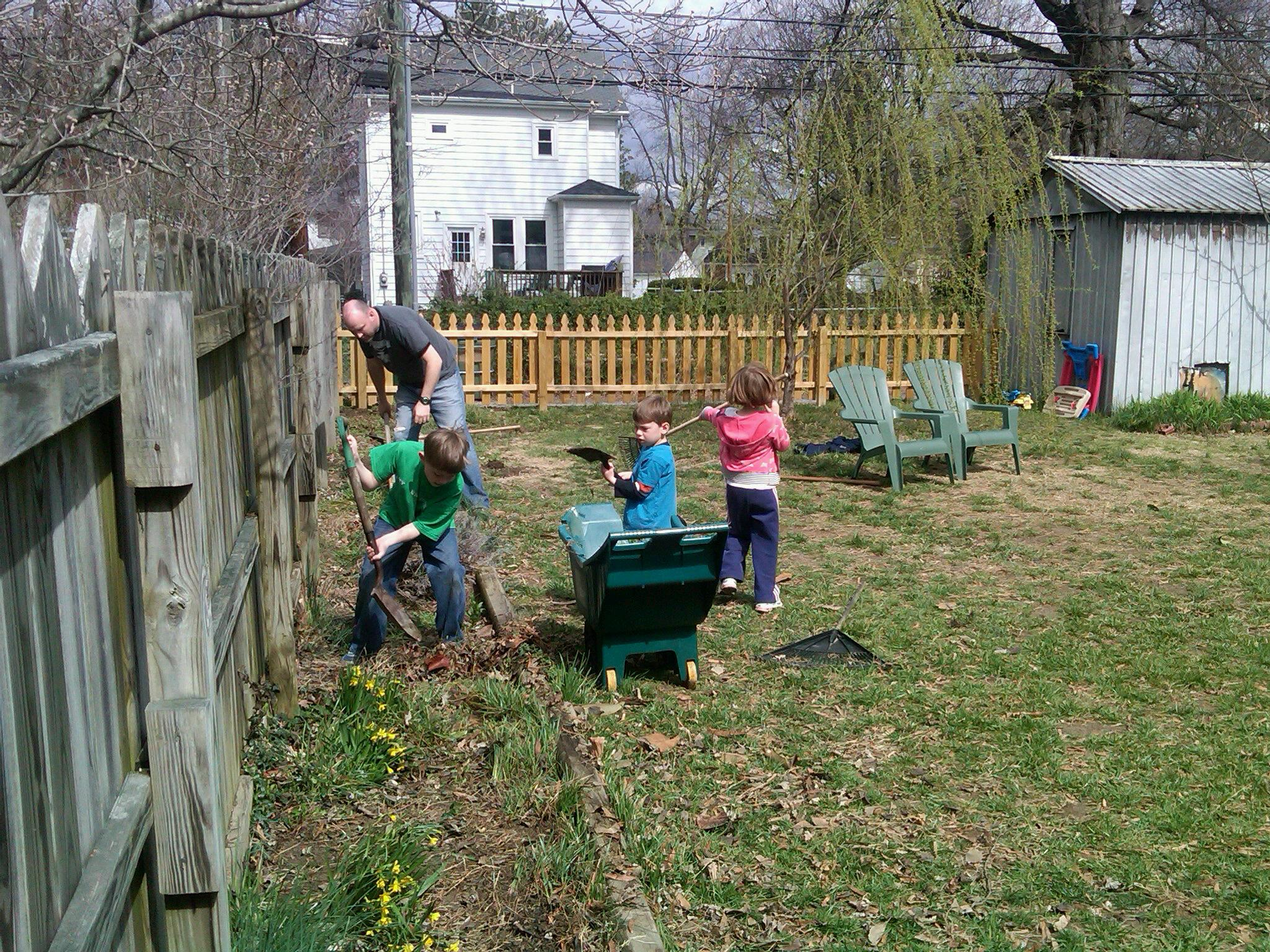 our run of the mill american backyard is making a case for baseball