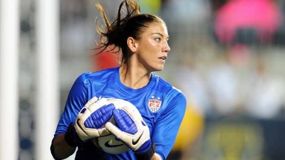 Hope Solo London 2012