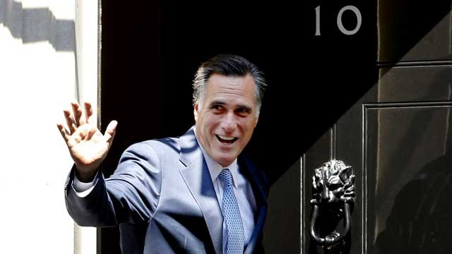 Mitt Romney London 2012