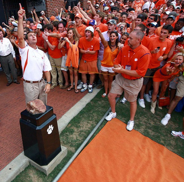 Clemson Football Revelry and Liturgy